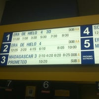 Photo taken at Mi Cine by Oswaldo C. on 7/5/2012