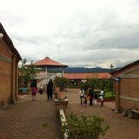 Photo taken at Parque Ecoturistico San Miguel Regla by Emmanuel A. on 4/8/2012