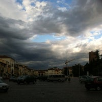Photo taken at Piazza Giorgione by Gian Luca D. on 6/12/2012