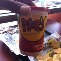 Photo taken at Moe's Southwest Grill by Darin on 8/8/2012