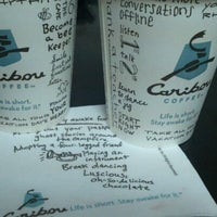 Photo taken at Caribou Coffee by Anna K. on 6/11/2012