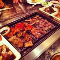 Photo taken at Oz Korean BBQ by Patrick G. on 8/18/2012