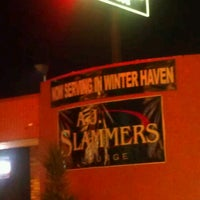 Photo taken at Aj Slammers by Jonathan M. on 8/23/2012