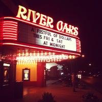 Photo taken at Landmark River Oaks Theatre by Chris R. on 5/6/2012