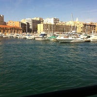 Photo taken at Old Port of Marseille by Eldjendoubi M. on 8/16/2012
