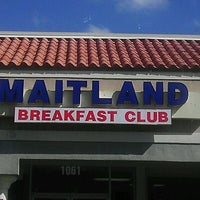 Photo taken at Maitland Breakfast Club by E B. on 3/23/2012