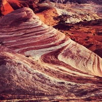 Photo taken at Valley of Fire State Park by Maho on 9/10/2012