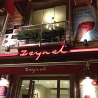 Photo taken at Zeynel Muhallebicisi by Emir on 8/15/2012