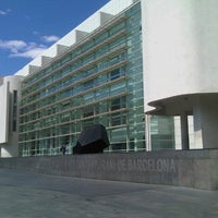 Photo taken at Museu d'Art Contemporani de Barcelona (MACBA) by Daniel M. on 9/2/2012