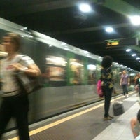 Photo taken at Metro Loreto (M1, M2) by Valerio L. on 6/13/2012