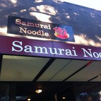 Photo taken at Samurai Noodle by Yoseph on 8/3/2012