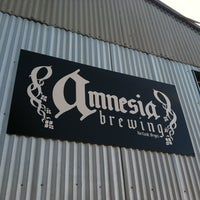 Photo taken at Amnesia Brewing by Ashley P. on 9/6/2012