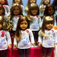 Photo taken at American Girl Place by Jeffrey Z. on 3/25/2012