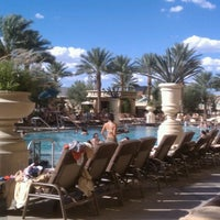 Photo taken at Palazzo Pool by Jonathan S. on 8/26/2012