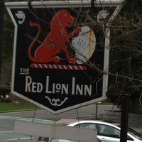 Photo taken at Red Lion Inn by Adam S. on 4/9/2012