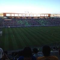 Photo taken at Territorio Santos Modelo Estadio by Juan A. on 4/22/2012