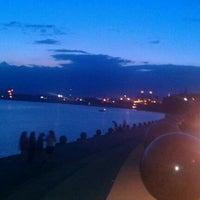 Photo taken at Evansville Riverfront by Greg B. on 7/15/2012