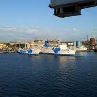 Photo taken at Porto di Piombino by E G on 5/19/2012