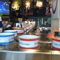 Photo taken at Blue C Sushi by Celeste M. on 7/3/2012