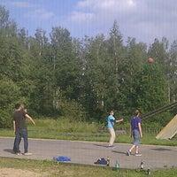 Photo taken at krasti by Eriks A. on 6/24/2012