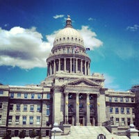 Photo taken at Idaho State Capitol by Ben F. on 6/2/2012