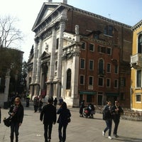 Photo taken at Campo San Stefano by 111 *. on 3/18/2012
