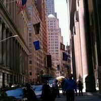 Photo taken at Wall Street by Kerri N. on 5/18/2012