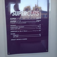 Photo taken at Supercuts by Karla on 8/6/2012