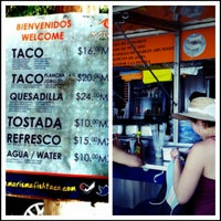 Photo taken at Marisma Fish Taco - Vallarta Centro by beno h. on 8/26/2012