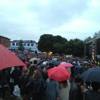 Photo taken at Devonshire Green by Jorge B. on 7/20/2012