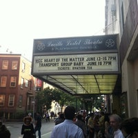 Photo taken at Lucille Lortel Theatre by Jonathan F. on 6/14/2012