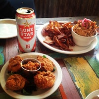 Photo taken at Lucy's Fried Chicken by Matthew F. on 5/14/2012