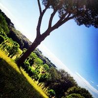 Photo taken at Villa Doria Pamphilj by Elisabetta M. on 6/8/2012