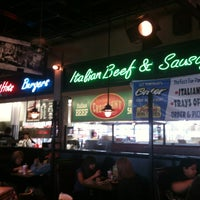 Photo taken at Portillo's by Tracie G. on 4/14/2012