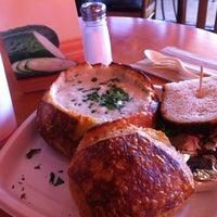 Photo taken at Boudin Bakery Café Fashion Valley by Alan B. on 9/5/2012