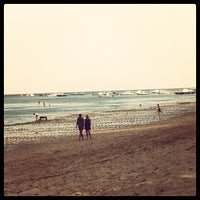 Photo taken at Pantai Segara Ayu by Abraham S. on 8/21/2012