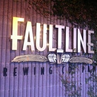Photo taken at Faultline Brewing Company by Edgar N. on 2/11/2012