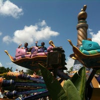 Photo taken at The Magic Carpets of Aladdin by Tyrone B. on 6/14/2012