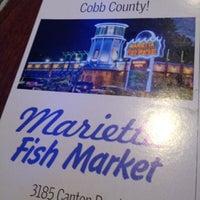 Photo taken at Marietta Fish Market by Tony B. on 8/25/2012