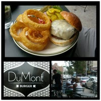 Photo taken at DuMont Burger by ReALTO on 8/23/2012
