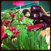 Photo taken at Kingsland Farmers Market by @philippegbois on 3/3/2012