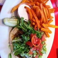 Photo taken at Chicago Diner by Ricardo V. on 2/25/2012