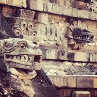 Photo taken at Zona Arqueológica de Teotihuacán by Paul K. on 4/15/2012