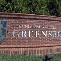 Photo taken at University of North Carolina at Greensboro by MÔNICA XAVIER on 4/12/2012