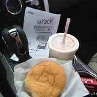 Photo taken at Fat Boy Drive-In by Andrew C. on 7/7/2012