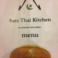 Photo taken at Sara Thai Kitchen by zahari on 6/4/2012