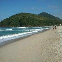 Photo taken at Praia Itamambuca by Elias R. on 7/27/2012
