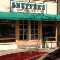 Photo taken at Snuffer's by Rik W. on 2/29/2012