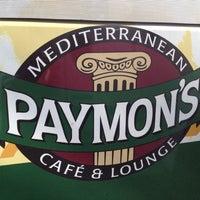 Photo taken at Paymon's Mediterranean Cafe & Hookah Lounge by BJ N. on 6/20/2012
