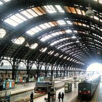 Photo taken at Stazione Milano Centrale by Veneziadavivere on 4/16/2012